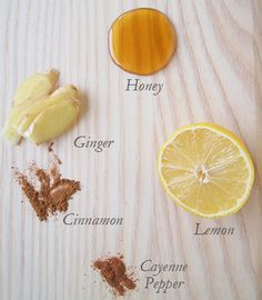 Cold & Flu Elixir: Natural Remedy    Here is the simple recipe:  • 2 cups of boiling water  • 4 slices of fresh ginger  • The juice of a whole lemon  • 2 tablespoons of local honey  • A generous sprinkle of cinnamon  • A gentle sprinkle of cayenne pepper