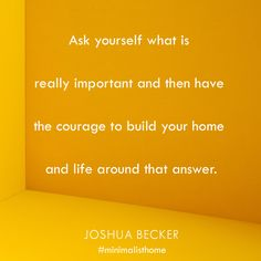 From The Minimalist Home, coming December Pre-order Joshua's new book and receive free resources (printables, private webinars, motivational reading guide) to help you in your journey to own less. Joshua Becker, Home Management, Slow Living, New Hobbies, Decision Making, Health And Wellbeing, Minimalist Home, Simple Living, Good Advice