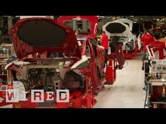 ▶ How the Tesla Model S is Made -- Behind The Scenes -- The Window - Wired - YouTube Tesla has around 3,000 employees