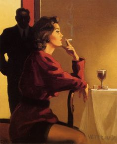 Someone To Watch Over Me   ~ Jack Vettriano