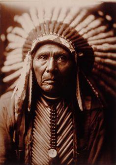 Three Horses, Native American...