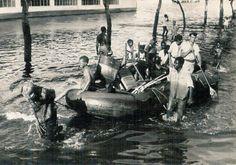 Após o Claude ter seguido o seu percurso Sudeste, a área metropolitana de Lourenço Marques ficou desvastada pelos efeitos do vento e da água.