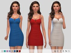 Comes in 8 colours. Found in TSR Category 'Sims 4 Female Everyday'
