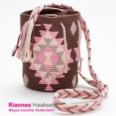 See the Aztek small & # - Crochet Case, Crochet Purses, Aztec Bag, Mochila Crochet, Tapestry Crochet Patterns, Crochet Backpack, Tapestry Bag, Knitted Bags, Crochet Accessories