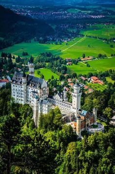 Neuschwanstein castle Germany #castle #neuschwanstein #BTPLandscapePro – +BTP…