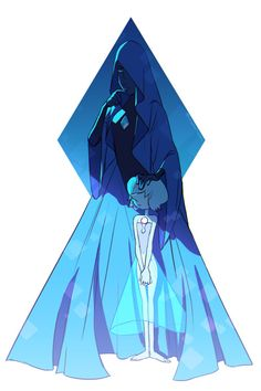 Blue diamond and her pearl