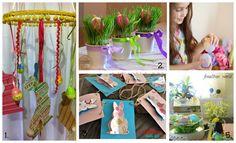 10 ιδέες για πασχαλινές κατασκευές - Craftaholic Easter Books, Easter 2018, Happy Easter, Easter Decor, Crafts, Decor Ideas, Decoration, Happy Easter Day, Decor