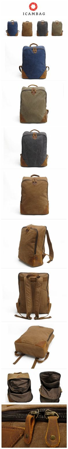 Canvas bag backpack  2202-P