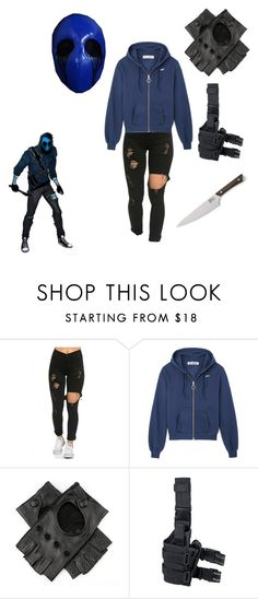 """Eyeless Jack Outfit"" by tessamyerswolf ❤ liked on Polyvore featuring Black and Crate and Barrel"