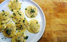 Homemade Ravioli Recipe (Kypros Raviolies) with Halloumi