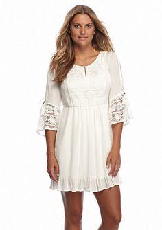 0be4a3f5d8235 color white size M Gauze Dress