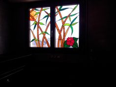 Vitrail figuratif Bambous : Vitraux d'Art Vanessa Dazelle Creations, Images, Painting, Art, Google, Figurative, Bamboo, Stained Glass, Basque Country