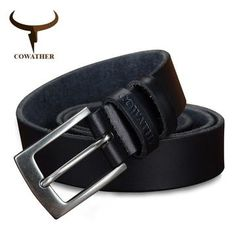 Cow genuine leather men belts hot design jeans belt for male – Sattaj Collections