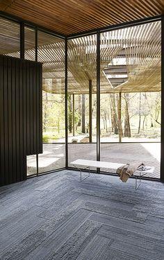 Interface | Modular Carpet Tile | Near & Far | NF400 Shale | NF401 Shale