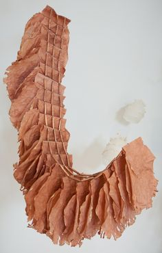 Laurie LeBreton paper sculptor installations abaca