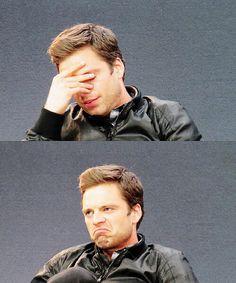 Sebastian Stan. Interview Sebbie is an adorable Sebbie :)