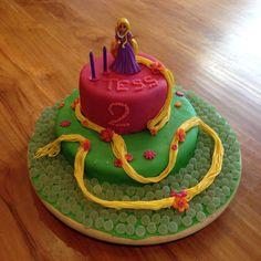 Rapunzel taart, Rapunzel cake, voor Tess