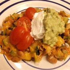 Spicy Mexican Style Zucchini Casserole http://allrecipes.com/recipe/spicy-mexican-style-zucchini-casserole/