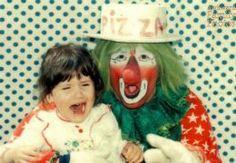 Creepy Vintage Pictures of Clowns Vintage Bizarre, Creepy Vintage, Vintage Clown, Scary Clown Mask, Le Clown, Scary Clowns, Funny Family Photos, Funny Photos, Creepy Photos
