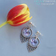Helmipaikka Oy - Joka päivä on korupäivä - Helmipaikka. Crochet Earrings, Swarovski, Drop Earrings, Jewelry, Fashion, Jewellery Making, Moda, Jewels, Fashion Styles