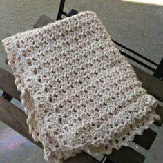 Free Pattern - Duchess Baby Blanket from Amanda Saladin