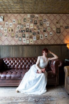 Photography: Bia Sampaio Photographs - http://www.stylemepretty.com/portfolio/bia-sampaio-photographs   Read More on SMP: http://www.stylemepretty.com/2015/10/22/elegant-vintage-parisian-wedding-in-brooklyn/