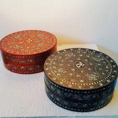 Korean lacquerwareinlaidwithmother-of-pearl (artist - Bae, Kwang Woo) 고려시대 나전칠기 재현, 배광우 작가 #나전칠기 #인사동 #서울 #Insadong #seoul #Korea #lacquerwares
