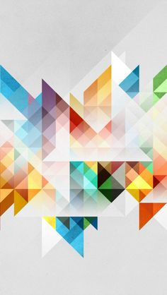 640x1136 Wallpaper abstraction, geometry, shapes, colors