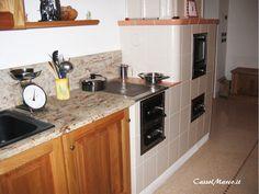 Kitchen Island, Kitchen Cabinets, Wood Oven, Google, Design, Home Decor, Padua, Island Kitchen, Wood Burning Oven