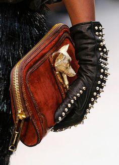 Burberry Prorsum Fall 2012 Handbags