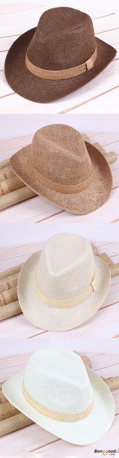 US$6.88 + Free shipping. Men's Women's Summer Breathable Straw Sun Hats Fedora Trilby Gangster Cap Casual Sunscreen Beach Hat. 4 Colors: Beige, Coffee, Light Beige, Camel. Fedoras hat, Jazz hat, buy now!