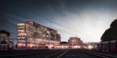 Renens Gare. Switzerland. FRES Architectes. 2014