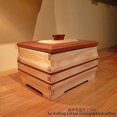 維多利亞木工DIY - I love the joinery on this box.  Amazing.  Nice wood and variety of wood.