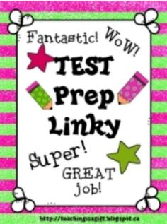 TEST PREP LINKY PARTY - Get your students ready for the upcoming state tests with links to many free and priced test prep lessons...   #FreeLesson   #TeachersPayTeachers  #TPT  #TestPrep   http://thebestofteacherentrepreneurs.blogspot.com/2013/04/test-prep-linky-party.html