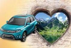 Gewinne einen Suzuki Vitara 4×4 im Wert von 34'000.- oder ein Relax-Weekend für 2 Personen in Appenzell im Wert von 1'000.-!  Mach hier gratis mit und gewinne: http://www.gratis-schweiz.ch/gewinne-einen-suzuki-vitara-4x4/