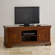 Victoria Solid Hardwood Widescreen TV Cabinet