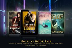Kindle Fire, Case, Tote & $50 Holiday Book Fair Giveaway!  Giveaway Ends January 6, 2017 12:00 am UTC
