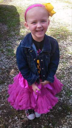 Stephanie Osborne:  Daisy Osborne  3 years old and was diagnosed on may 6, 2013 with ALL leukemia. She is in remission!   #endchildhoodcancer #gogold