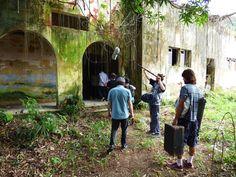 Fotos das filmagens na Colônia Juliano Moreira. Por Eduardo Mourão Vasconcelos. Pictures