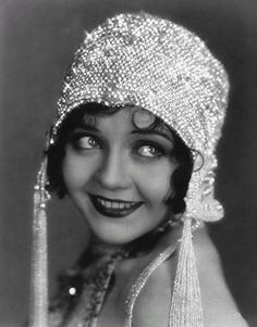 Helen Kane, In A Flapper Style; Helen Was Known For Being The Model/Inspiration For The Cartoon Character, Betty Boop.