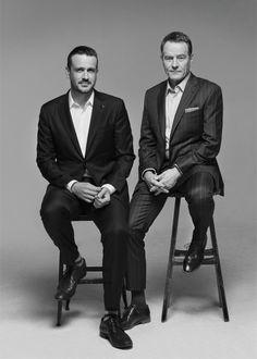 Bryan Cranston and Jason Segal