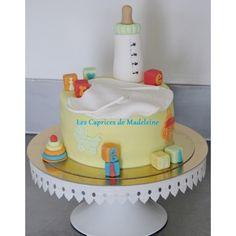 le gâteau biberon de bébé