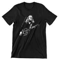 Warren Haynes Gov't Mule T shirt Allman Brothers Hand screen-printed Men's / Ladies / Fitted / Buy any two shirts get one free! by cottonpickincrazy on Etsy Willie Nelson T Shirts, Gov't Mule, Warren Haynes, Young T, Allman Brothers, Get One, Cool T Shirts, Classic T Shirts, Long Sleeve Tees