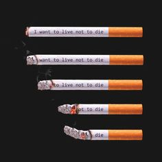 Quit Smoking Tips. Kick Your Smoking Habit With These Helpful Tips. There are a lot of positive things that come out of the decision to quit smoking. Quit Smoking Quotes, Quit Smoking Motivation, Quotes About Smoking, Smoking Campaigns, Rauch Fotografie, Cigarette Aesthetic, Live Or Die, Smoking Effects, Smoking Kills