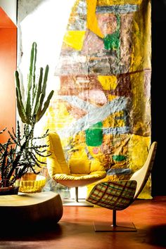 Moroso's latest product campaign features a stunning furniture collection shot inside Patrizia Moroso's spectacular house designed by Patricia Urquiola.