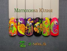 Маникюр | Видео уроки | Art Simple Nail----not that I could ever do these, but they are cute