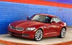 Red BMW Z4 Roadster Wallpaper