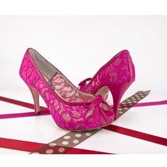 #zapatos #encaje #tacones #colores http://www.jorgelarranaga.com/es/zapatos-peep-toes/39-226.html #SHOES #SCARPE #OINETAKOAK #SABATES #SCHUHE #CHAUSSURES #MADEINSPAINSHOES