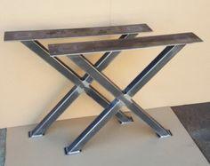Trestle Table Legs Heavy duty Sturdy Metal Legs by DVAMetal