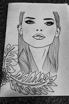 #drawing #pen #sketches #blackandwhite